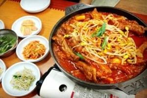 등갈비김치찜,인천광역시 연수구,지역음식