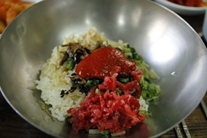 비빔밥,경상남도 진주시,지역음식